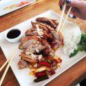 sushi lunch namasushi duck chef mateuszsad mateuszsad