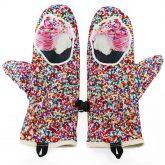 Rękawiczki zimowe CHERRISH Babeczki Wnętrze