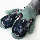Rękawiczki zimowe CHERRISH Buldogi dłonie
