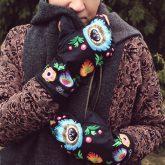Rękawiczki zimowe CHERRISH Łowickie Ręka