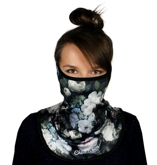 komin-kwiaty-cherrish-przod-maska
