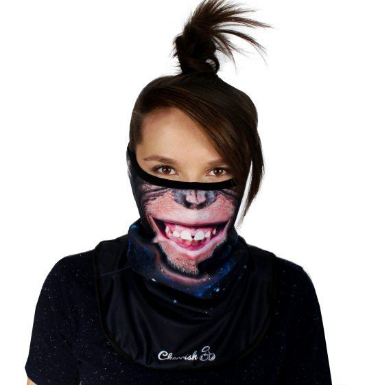 komin-malpa-cherrish-przod-maska