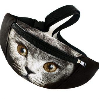 wiz kot czarny z braowymi oczami