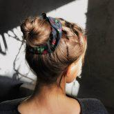 scrunchie-hair-bun